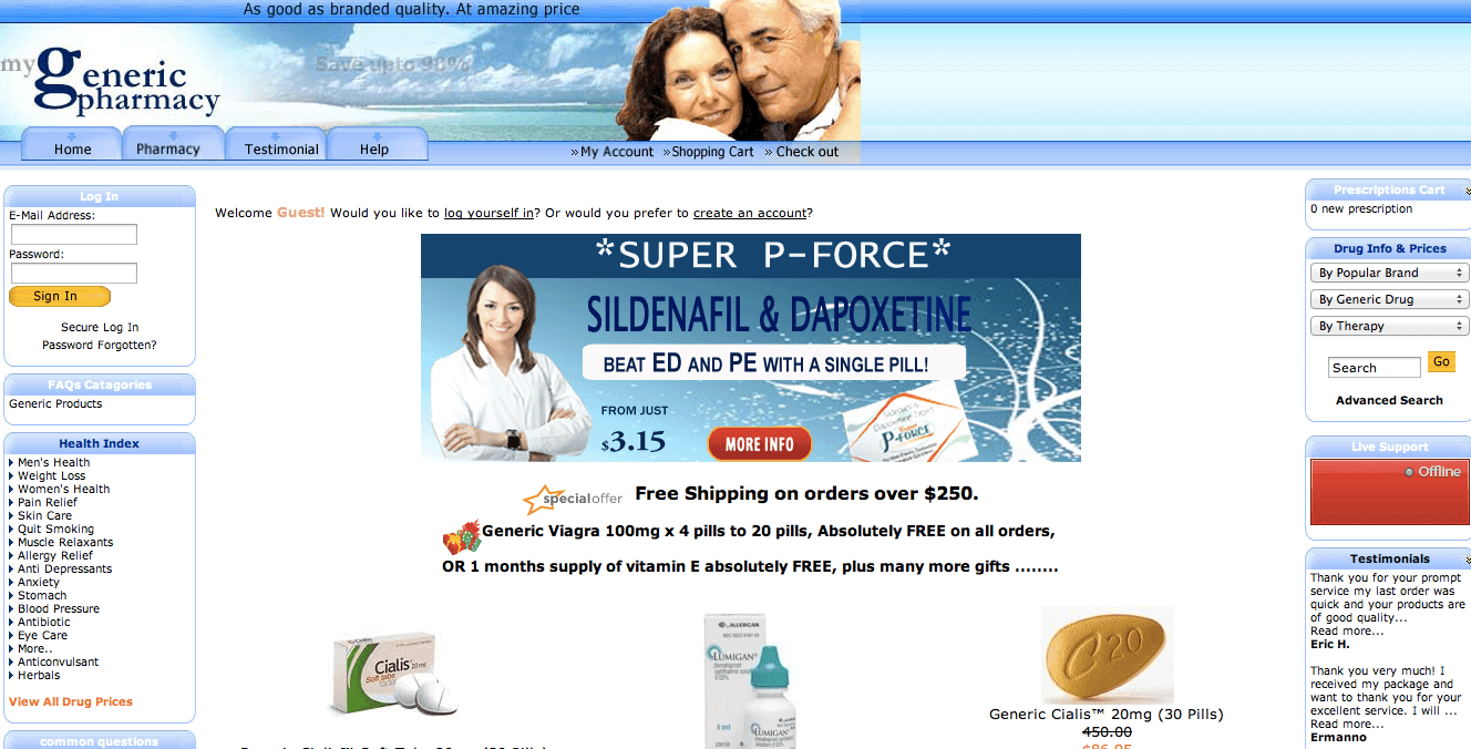 Reliable online pharmacy viagra