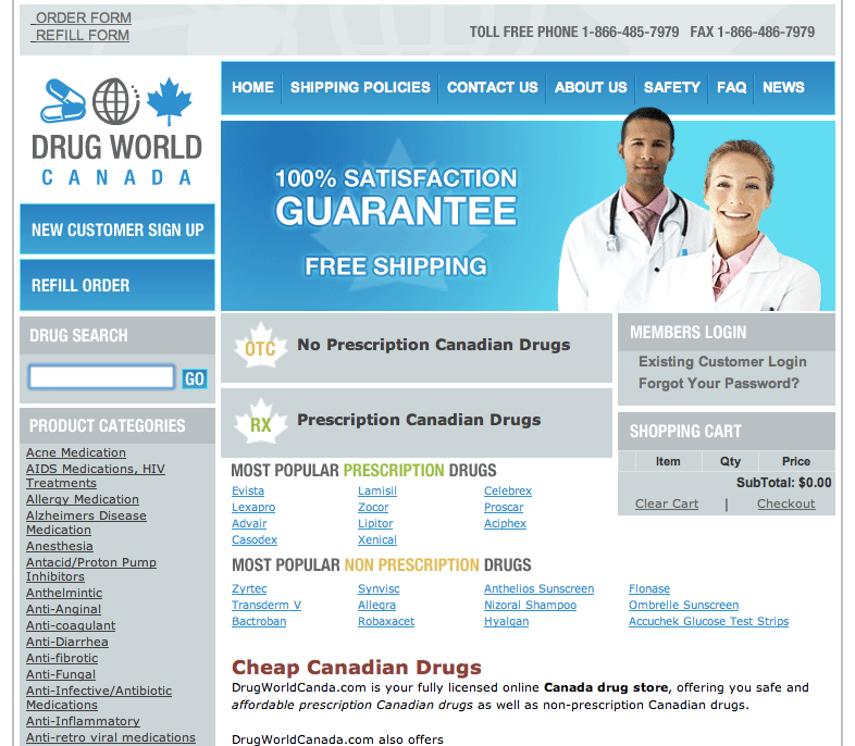 online drugstore canada