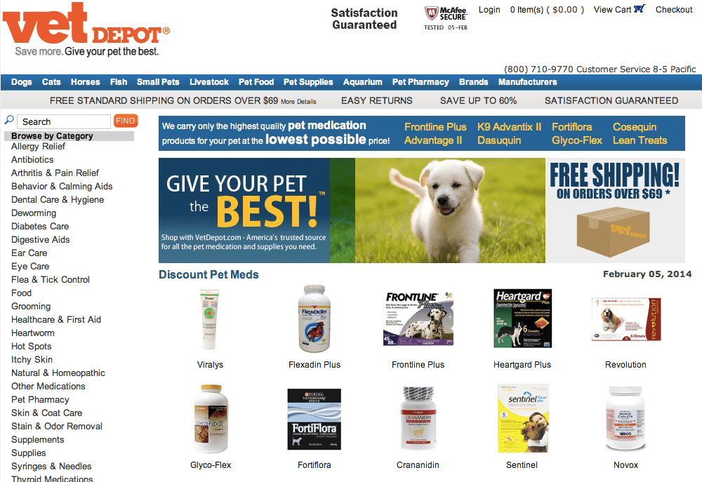 purchasing tramadol from vet depot ratings