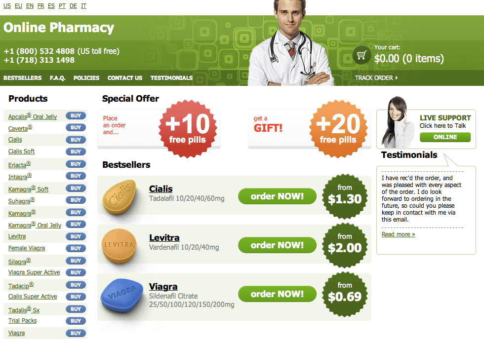 Online pharmacy reviews cialis