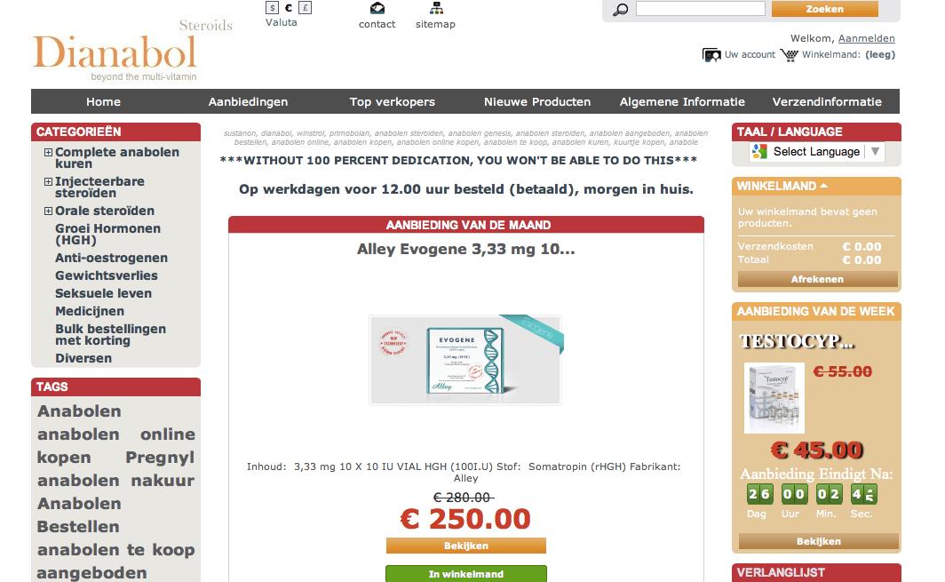 winstrol nl