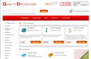 Qualitydrugstorenow.com Main Page