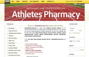 athletespharmacy.com review