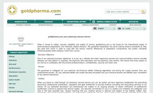 goldpharma.com review