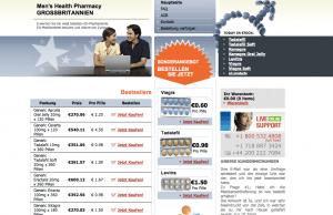 Menhealth-pharmacy.eu Home Page