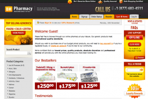 Bmpharmacy.com coupon