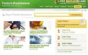 Patientassistance.com coupon