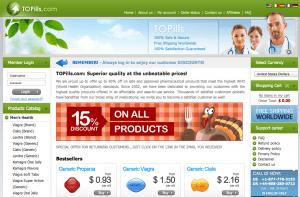 Topills.com coupon