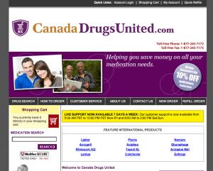 Canadadrugsunited.com review