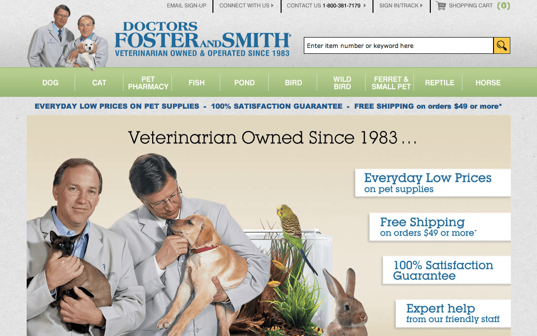 Dr foster and smith coupon code 2019