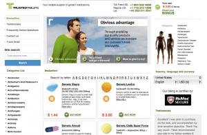 True-tablets.com Website Design