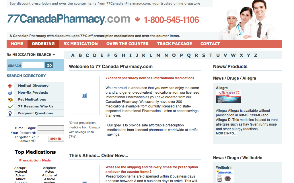 Dec 12, · Canadian Online Pharmacies Represent Huge Savings: Savings on brand name medicine purchased from a legitimate Canadian pharmacy can be dramatic. We asked an organization that carefully monitors Canadian and international pharmacies to do some cost comparisons/5().