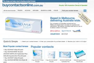 Buycontactsonline.com.au review