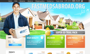 Fastmedsabroad.org Home Page