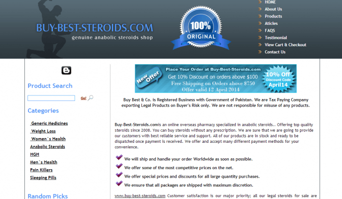 Best steroids online review