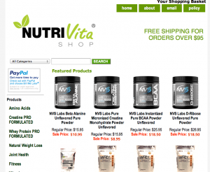 Nutrivitashop.com review