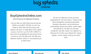 Buyephedraonline.com Review