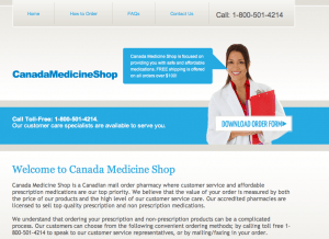 Canadamedicineshop.com review