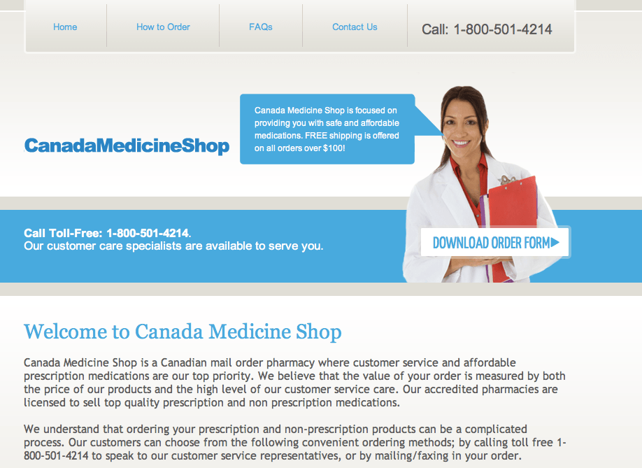 Mail Order Fluconazole From Canada