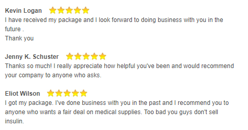 Customer Satisfaction with Rx-pills.com Services