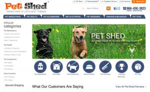 Petshed.com review