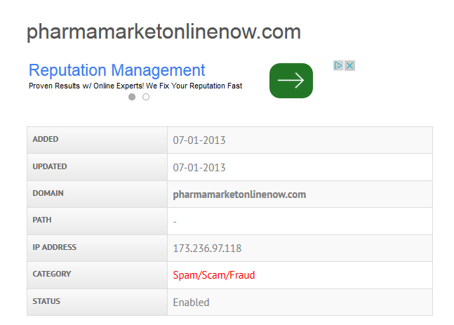 Pharmamarketonlinenow.com Review