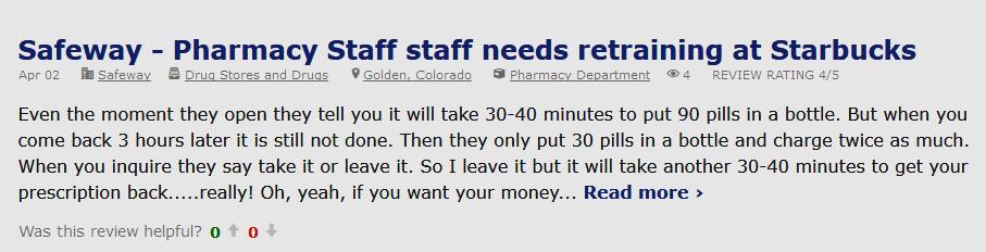 Safeway.com Reviews