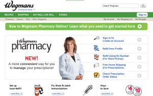 Wegmans.com Pharmacy Reviews