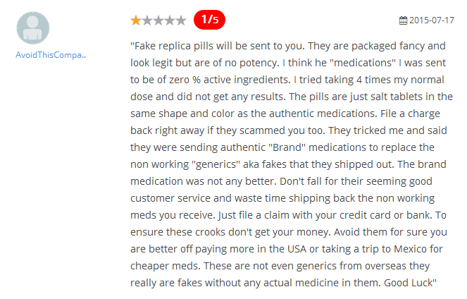 Canpharm.com Reviews