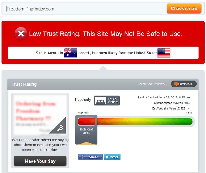 Freedom-pharmacy.com Reviews