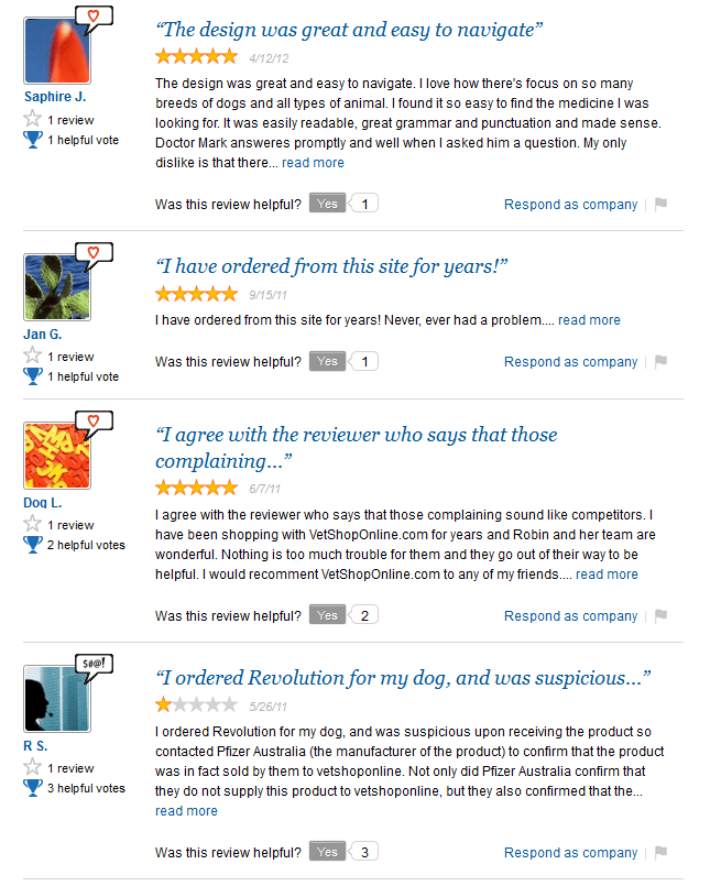 Vetshoponline.com Reviews