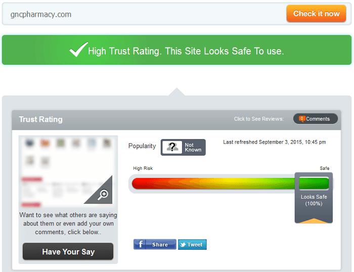 Gncpharmacy.com Reviews