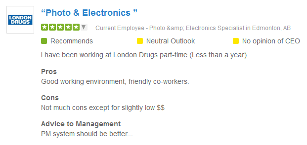 Londondrugs.com Reviews