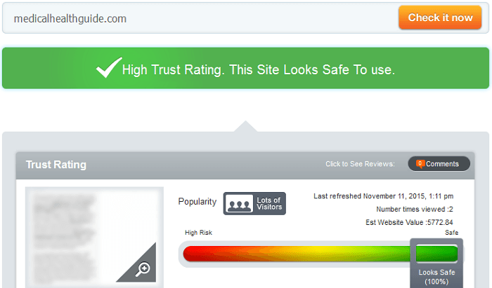 Medicalhealthguide.com Reviews
