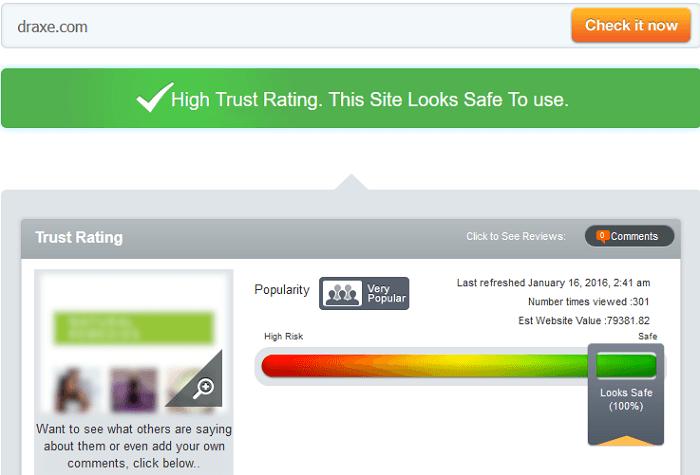 Draxe.com Reviews