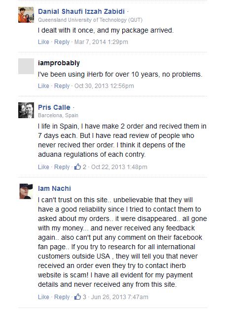 iHerb.com Reviews