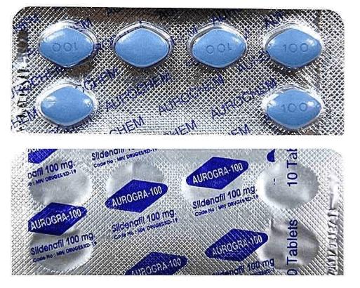 Aurogra 100 mg Blister