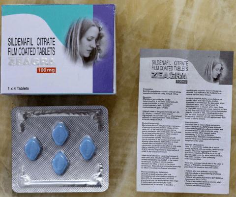 Zeagra 100 mg Buying Guide