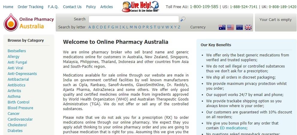 Onlive Pharmacy Australia