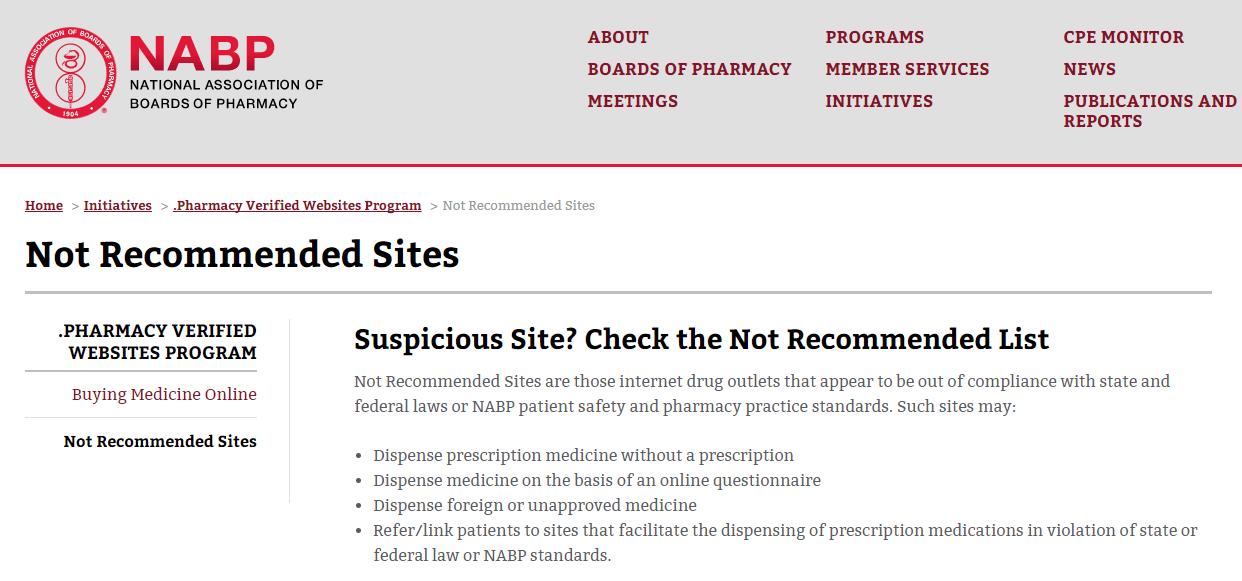 NABP Website