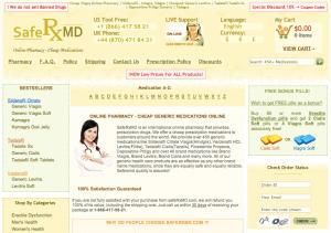SafeRxMD.com Main Page