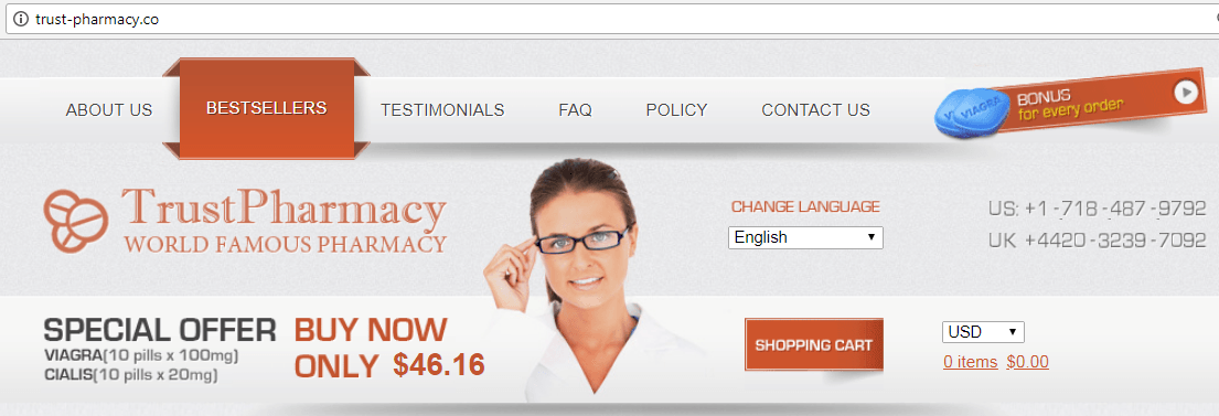 Trust Pharmacy Domain