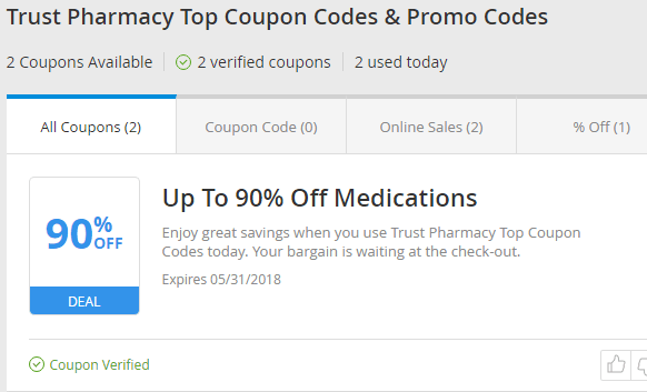 Trust Pharmacy Coupon Code
