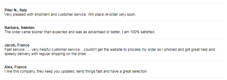 Secure Tabs Customer Reviews